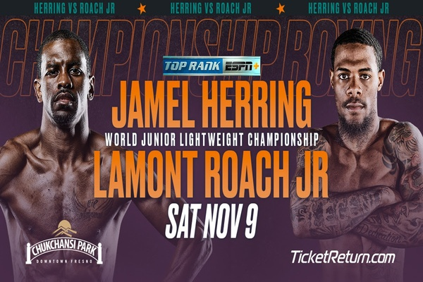 Jamel Herring and Lamont Roach Jr. will have fists flying in Fresno