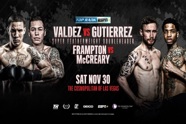 Former feather king Oscar Valdez looks to make his mark at 130