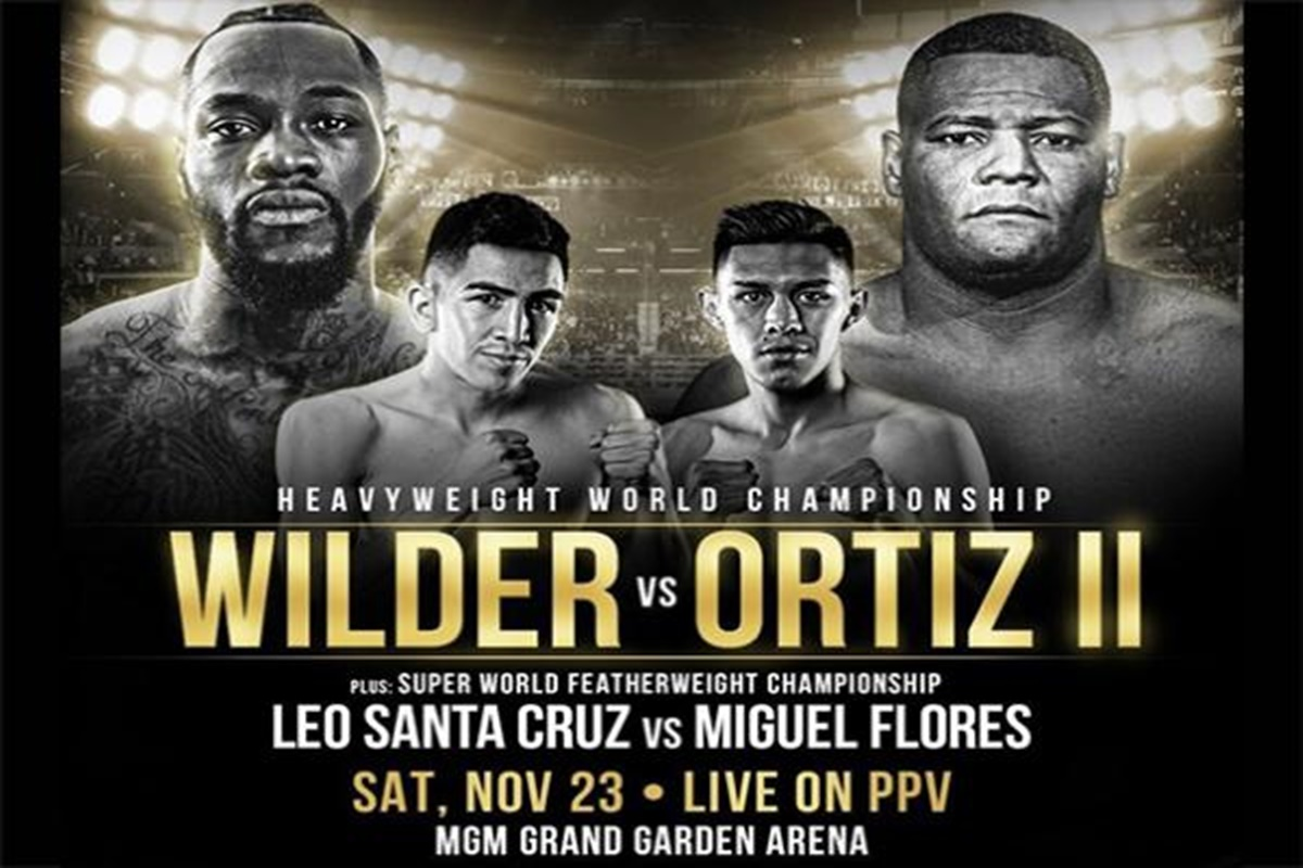 Image result for wilder vs ortiz ii poster""