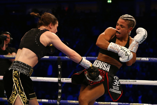 Lightweight champion Katie Taylor outclasses Christina Linardatou, captures WBO junior welterweight title