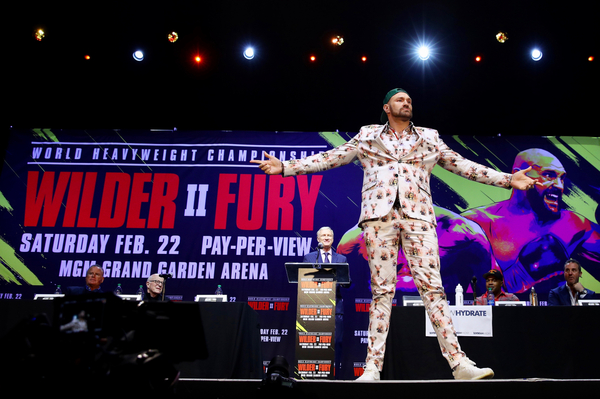 Tyson Fury - 'Anthony Joshua doesn't have the b****cks' to spar me for Deontay Wilder! (video)