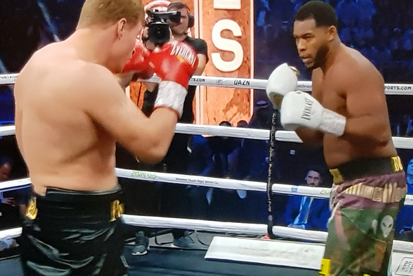 Michael Hunter and Alexander Povetkin battle to spirited split draw