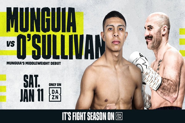 Jaime Munguia makes middleweight debut Jan.11