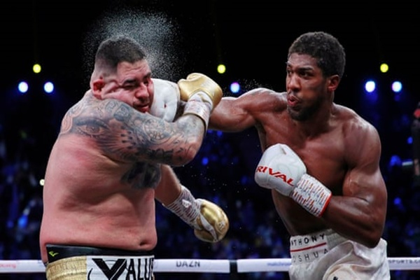 Revenge time: Anthony Joshua wins back world heavyweight titles