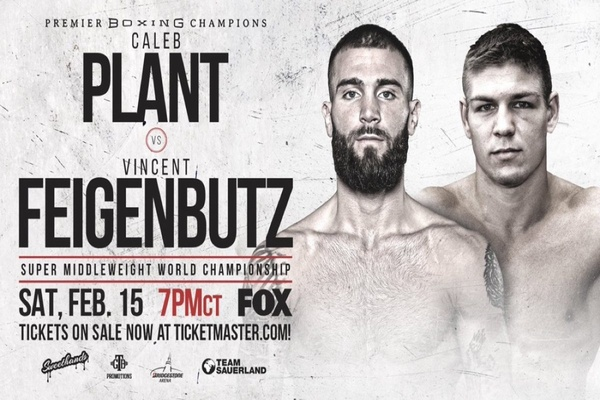 IBF super middleweight champion Caleb Plant defends title against Vincent Feigenbutz Feb.15