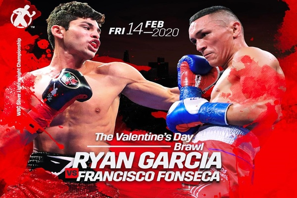 Ryan Garcia fights Francisco Fonseca Feb.14