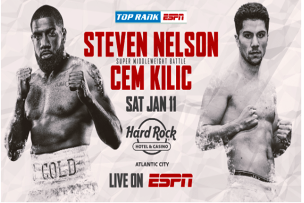 Battle of undefeated fighters as Steve Nelson takes on Cem Kilic