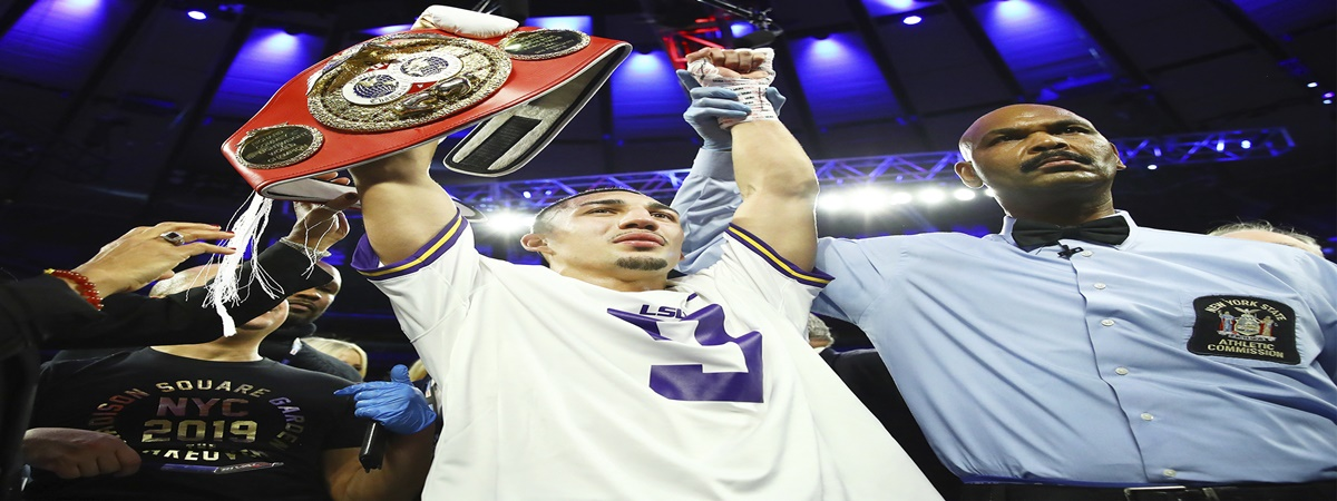 Teofimo Lopez wins world title with electrifying knockout