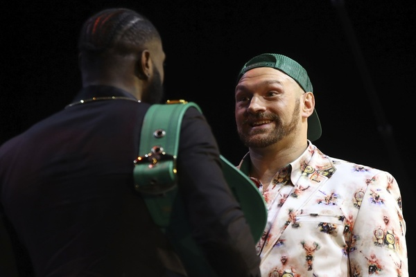They meet again: Deontay Wilder vs. Tyson Fury 2 press conference: Both predict knockout victories