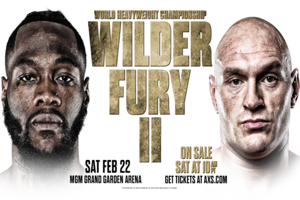 Deontay Wilder vs. Tyson Fury 2 is on for Feb.22