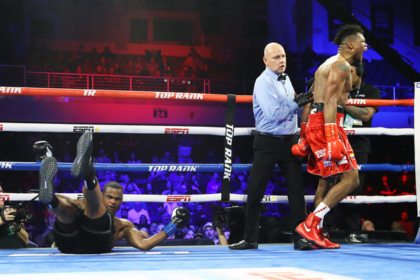 Eleider Alvarez disposes of Michael Seales brutally