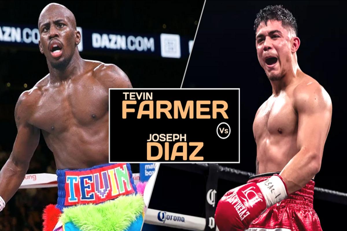 Max Boxing Sub Lead Dream Comes True Jojo Diaz Defeats Tevin Farmer To Win World Title