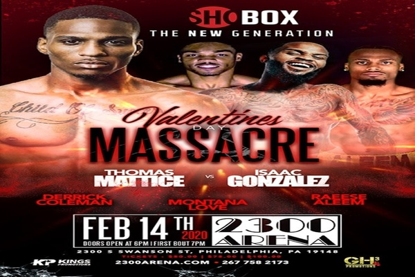 ShoBox Feb.14: Thomas Mattice fights Issac Cruz Gonzalez