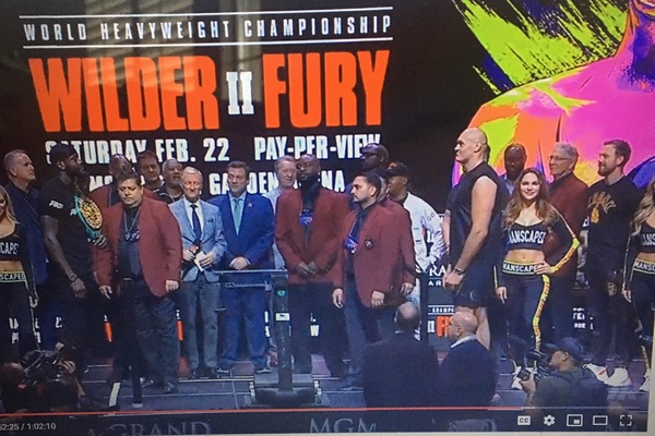 24 hours to go: Deontay Wilder and Tyson Fury weigh-in