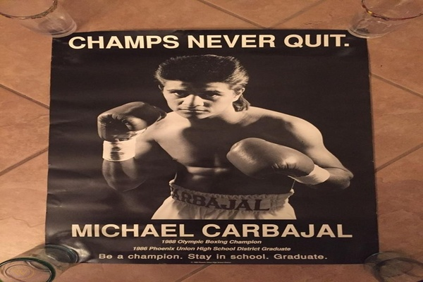 Michael Carbajal retired a world champion