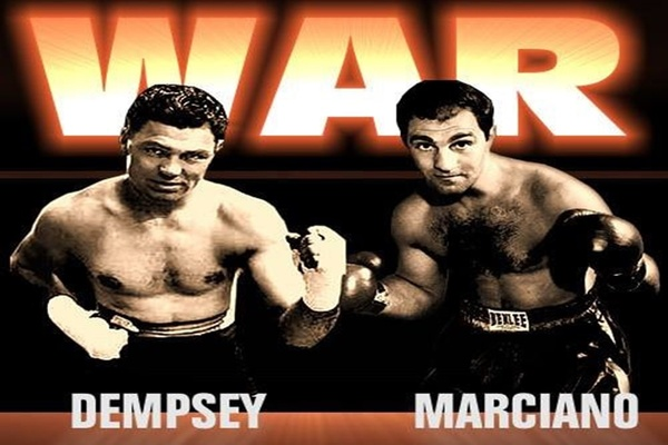 Mythical matchup round two: Jack Dempsey vs. Rocky Marciano