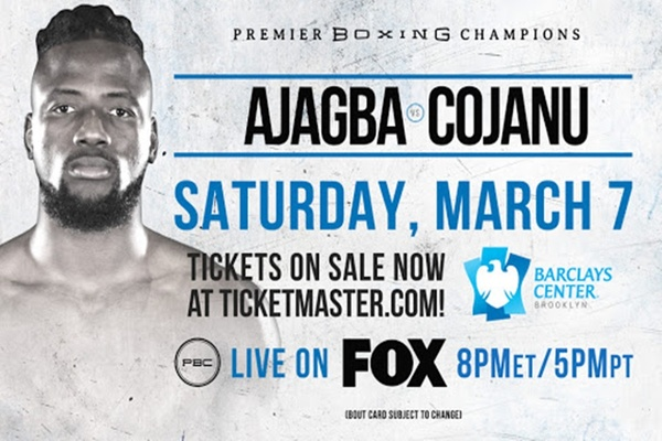 Undefeated heavyweight Efe Ajaba fights former title challenger Razvan Cojanu tomorrow night