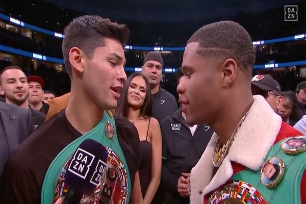 Young blood: Devin Haney vs. Ryan Garcia - who wins?