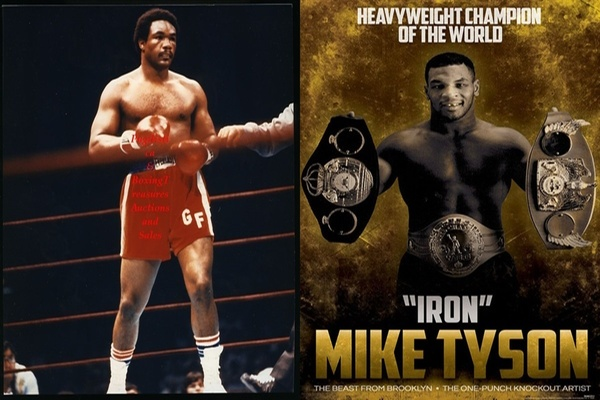 Mythical matchup: George Foreman fights Mike Tyson: Who wins?