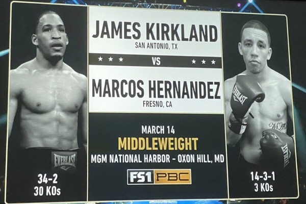 Prospect Jonathan Esquivel battles Dormedes Potes on undercard of James Kirkland vs. Marcos Hernandez main