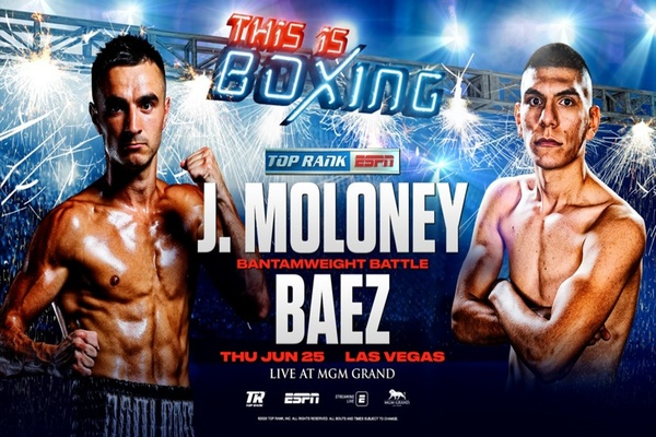 Bantamweight contender Jason Moloney primed and ready to deliver the goods against Leonardo Baez June 25