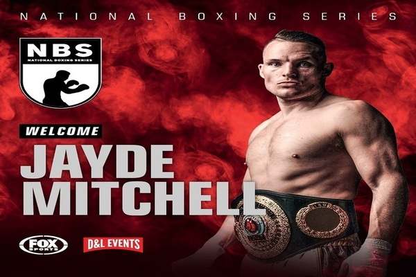 15 rounds with super middleweight Jayde Mitchell