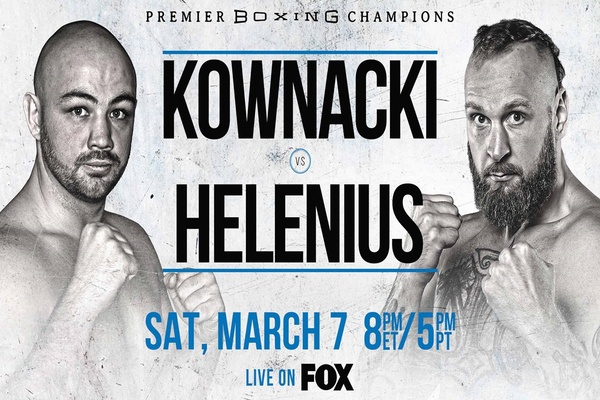 Undefeated heavyweight Adam Kownacki fights Robert Helenius at Barclays Center