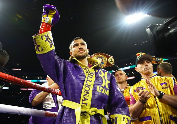 Done deal: Vasiliy Lomachenko and Teofimo Lopez set to fight October 17 in Sin City