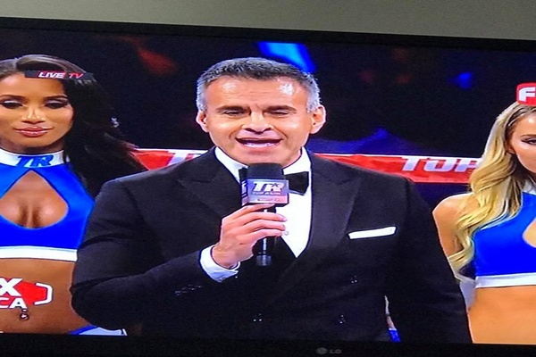 Top Rank ring announcer Lupe Contreras