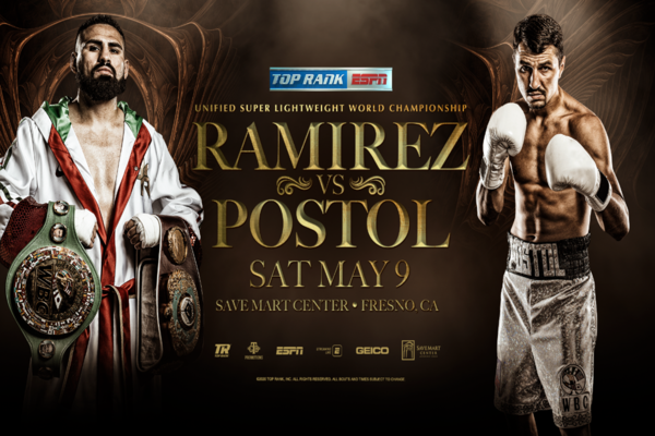 Jose Ramirez defends titles May 9 against Victor Postol in Fresno
