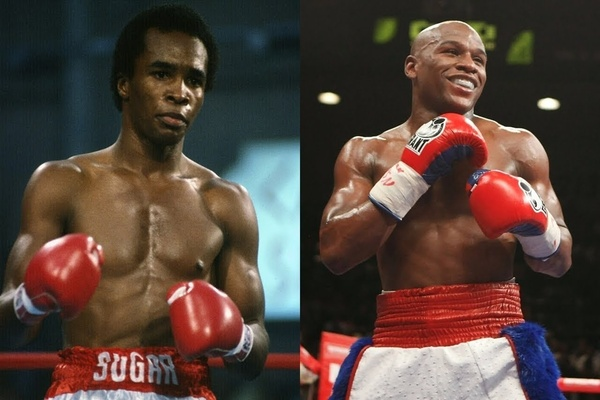 The final mythical match-up: Sugar Ray Leonard vs. Floyd Mayweather Jr.