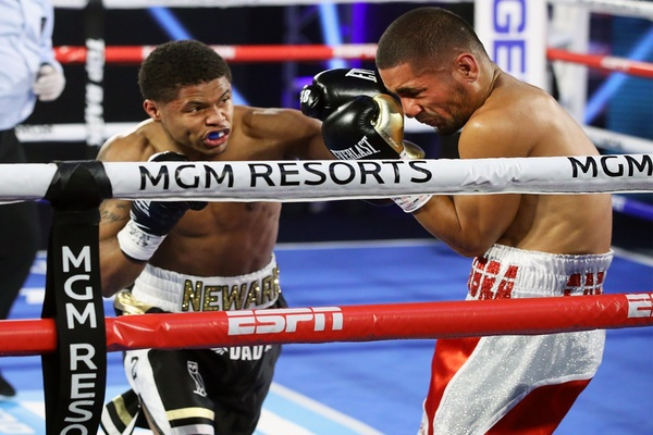 Shakur Stevenson and boxing return triumphantly