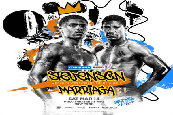 Shakur Stevenson and Miguel Marriaga set to throw hands this Saturday night