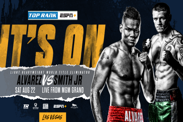 Light heavyweight eliminator: Eleider Alvarez fights Joe Smith Jr.