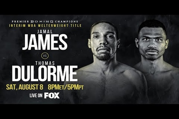 Jamal James outpoints Thomas Dulorme, David Morrell Jr. captures interim belt in third pro fight