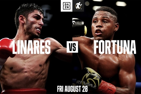 Jorge Linares to fight Javier Fortuna August 28