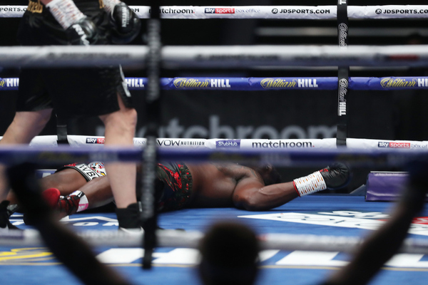 Down twice, Alexander Povetkin knocks out Dillian Whyte