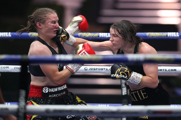 Tough but definitive: Katie Taylor defeats Delfine Persoon in rematch