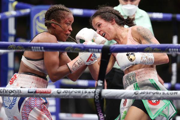 Terri Harper vs Natasha Jonas fight ends in a highly spirited but contentious draw at Fight Camp