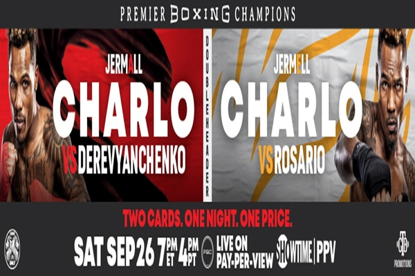 Clash of champions: Jermell Charlo fights Jeison Rosario September 26