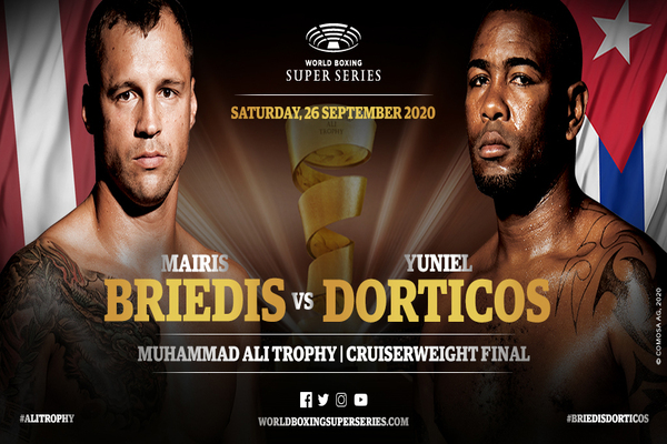 Mairis Briedis vs. Yuniel Dorticos set for September 26