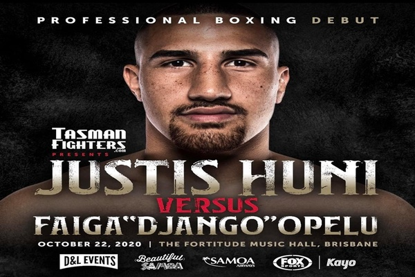 Heavyweight hotshot Justis Huni primed for professional debut