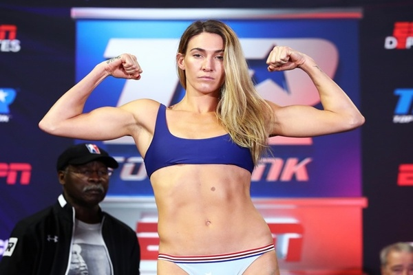 Mikaela Mayer looks to add her name to Top Rank's list of champions this Saturday night