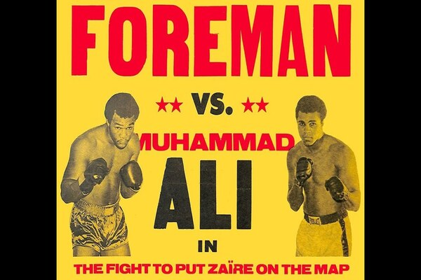 It went down forty six years ago: Heavyweight champion and big favorite George Foreman threw hands with former champion Muhammad Ali