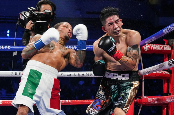 All it takes is one: Gervonta Davis ends matters with Leo Santa Cruz