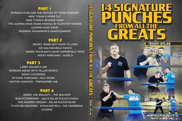 Product review: Teddy Atlas '14 signature punches from the greats'