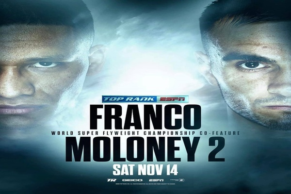 Knuckle Down Preview: Joshua Franco vs. Andrew Moloney rematch
