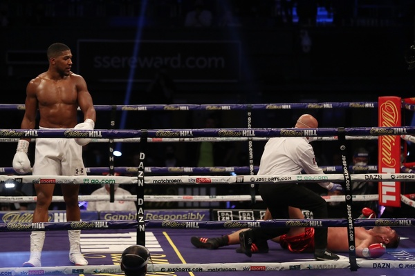 Anthony Joshua knocks out Kubrat Pulev, Tyson Fury next?