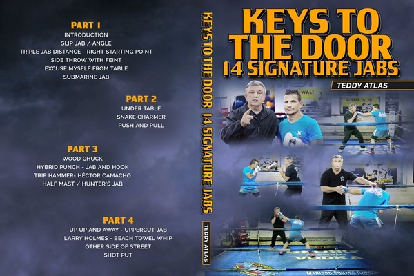 Product review: Keys to the door - 14 signature jabs Teddy Atlas