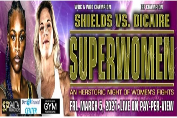 Super welterweight title fight March 5: Claressa Shields vs. Marie-Eve Dicare